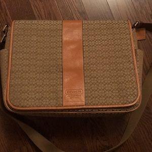 Rare - vintage Designer laptop bag Coach